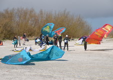 Kitesurfen in Workum